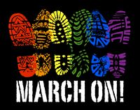 March On Color Flattened
