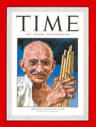 Gandhi walks to Pakistan