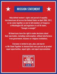 Enough is enough Mission-Statement