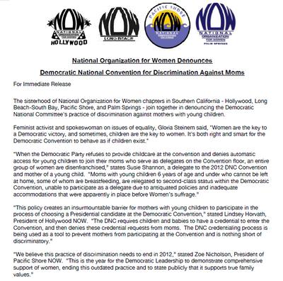 DNC press release