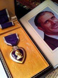 107. 2011 Uncle Bill Purple Heartheart close