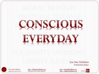 Conscious Everyday cover
