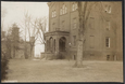 1917 Nov 5 Alice transferred to DC Hospital -  on 3rd floor right, Alice Paul's window boarded up.