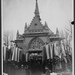 1933 Alva Belmont's coffin entering St Hubert's Chapel, Woodlawn Cemetery New York