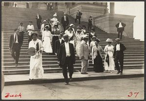 1913 suffrage lobby to house rules committee