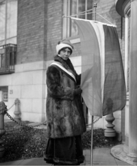Alice Paul in fur 1