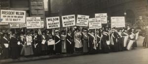 1916 wilson campaign