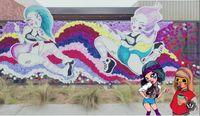 Pow wow mural
