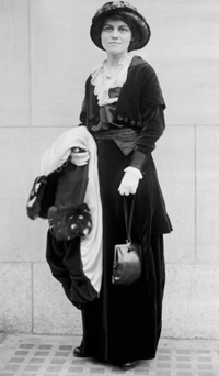 1910 Lucy Burns