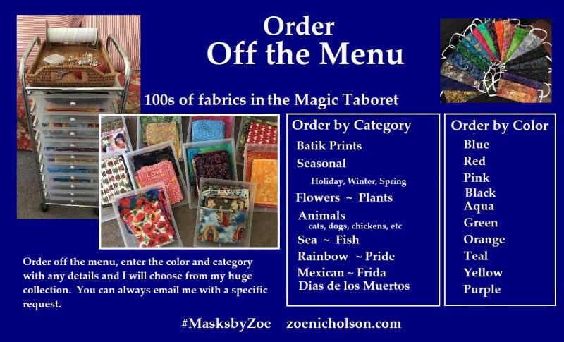 Off the menu poster