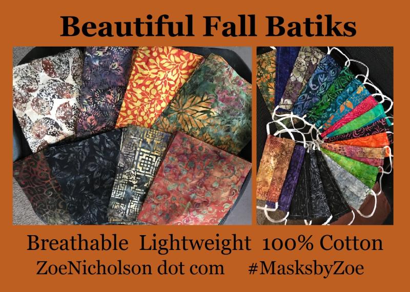 Fall batiks