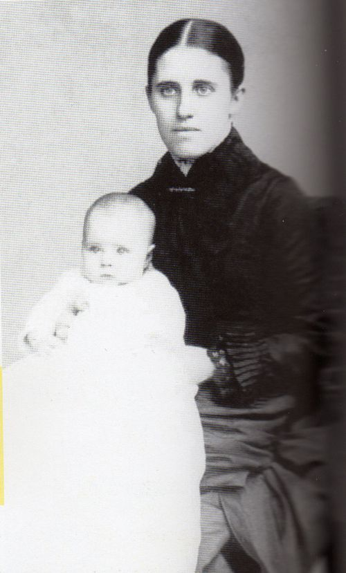 1885 Alice with Mother, Tacie Parry Paul