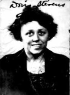 1921 Doris Stevens passport