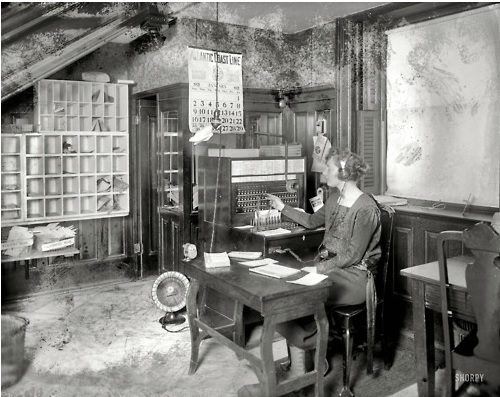 1921 NWP switchboard