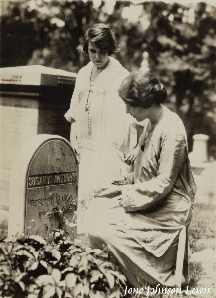 1923 July 19 Susan B. Anthony gravesite
