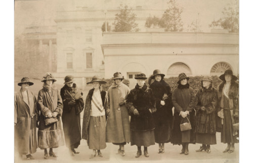 1924 Congress would give full consideration to the Equal Rights Amendment. They formed a Valentine's Day deputation