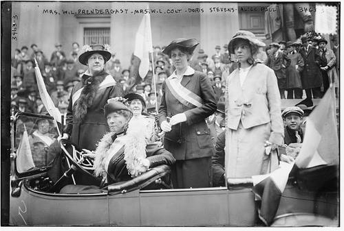 1925 Mrs Prendergast Mrs Colt Mrs Malone Alice Paul
