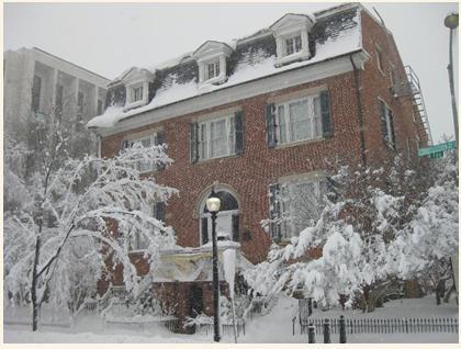 1929 Belmont House Winter