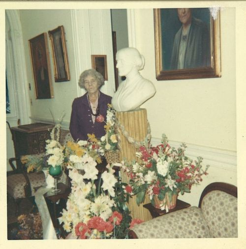 1960 Alice Paul at the Sewall Belmont