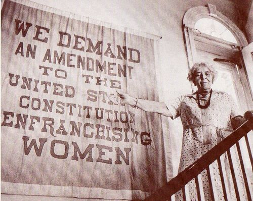 Alice Paul 1972 at Belmont House