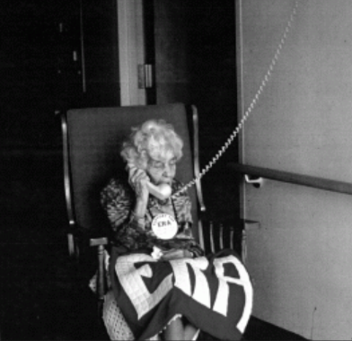 1977 call with Betty Ford
