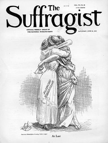 1920 Suffragist