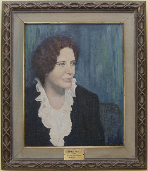 Painting Alice Paul