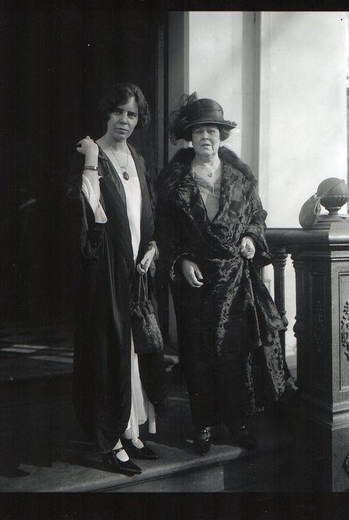 Alva Belmont & Alice Paul