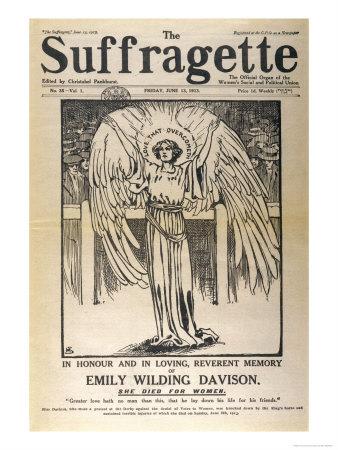 1910 UK Suffragette Emily Davison